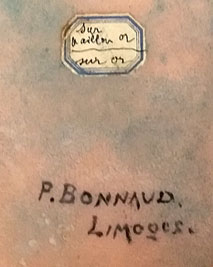 Signature Paul Bonnaud